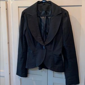 Maurices lined black blazer simple classic